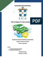 61903690 Plan de Negocio Auto Lavado Jinotepe
