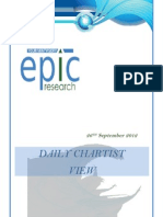 Special Report  by Epic resear 26 sep 2012