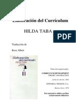 Curriculum Taba