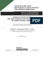 Guía ilustrada de peces de Isla del Coco y arrecifes de la costa pacífica de América Central