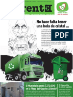 De Frente. Revista N° 1. Publicacion Partidatia del Frente Todos por Río Tercero.