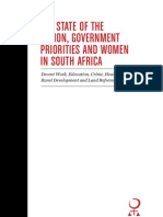 Women and Government Priorities 2012