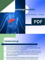 Epidemiologi hepatitis