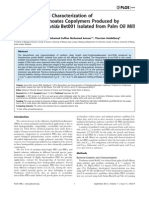 Biosynthesis and Characterization of Polyhydroxyalkanoates Copolymers Produced by Pseudomonas putida Bet001 Isolated from Palm Oil Mill Effluent
