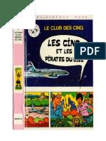 Blyton Enid Les Cinq 6 Les Cinq Et Les Pirates Du Ciel 1973