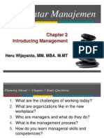 Chapter 2 - Introduction to Management