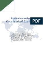 Teknik Eksplorasi-Eksplorasi Geokimia
