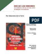 Aprender de Los Errores de-LA-ToRRE-Saturnino