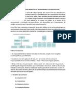 LA ELABORACIÓN DE PROYECTOS DE LAS INGENIERIAS Y LA ARQUITECTURA