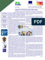 Newsletter Europe Direct Trentino