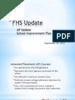 FHS Update 9-25-12 Final