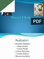 Mircea Eliade- Eseist