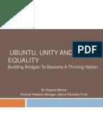 Ubuntu, Unity and Equality