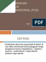Perdarahan Uterus Disfungsional (Pud)