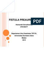 Fistula Preaurikular