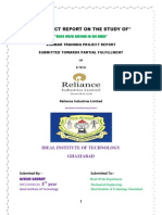 Project Report on Rice Husk Boiler Reliance 2012