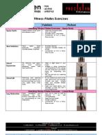 Fitness Pilates Exercises