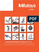 Catalogue Complete Mitutoyo