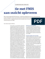 Integratie met FMIS kan inzicht opleveren (FMIS katern FMM)