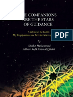 The Companions Are The Stars Of Guidance by Hazrat Allama Maulana Al-Haj Mufti Muhammad Akhtar Raza Khan(Maddazillahul Aali)