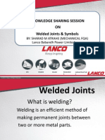 Kss - Welded Joints & Symbols