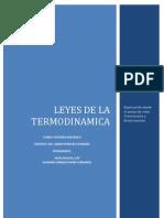 Leyes de La Termodinamica Desde El Punto de Vista Creacionista vs Evolucionista