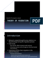 Endre Sik - Theory of Migration - The Migration Network