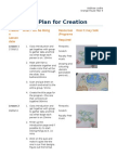 My Plan for Creation