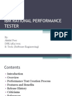 Ibm Rational Performance Tester