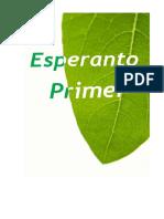 Esperanto Primer