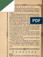 Voltaire - Questions... Vampire
