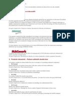 MACtac Soignies - Les Groupes de Produits