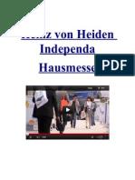 Heinz Von Heiden Independa Hausmesse Im KompetenzCentrum Kuppenheim