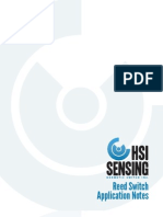 HSI Sensing Reed Switch Application Notes