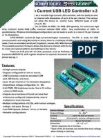 Chromation Systems 24Chan LEDController v3