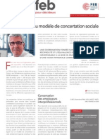Vers un nouveau modèle de concertation sociale, Infor FEB 29, 27 septembre 2012