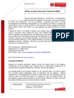 MACtac Soignies - M6 - D&CO