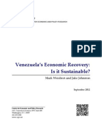 Venezuela's Economic Recovery