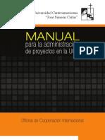 Manual para la administración de proyectos UCA