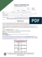 Lifeguard Training Registration Form