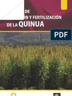 Manual de Fertilizacion de La Quinua Def