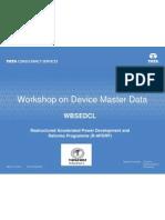 Workshop - Device Master Data
