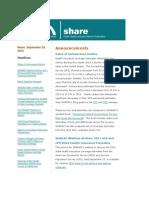 Shadac Share News 2012sep26