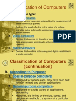 Unit 5 Classifcation of Computers
