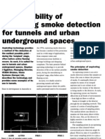 The Suitability of Aspirating Smoke Detection for Tunnels