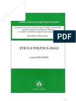 Rita Melillo - Etica e Politica Oggi, 1998, PPE, Pp195
