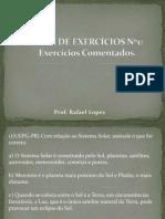 LISTA DE EXERCÍCIOS Nº1