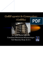 GnRHa Gynaecology