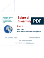 Sobre El E-Learning