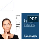 Email Deliver Ability Best Practices